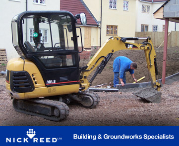 Nick Reed Contruction Mini Digger